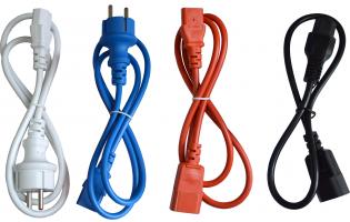 Новинки ассортимента – новые цвета силовых кабелей питания