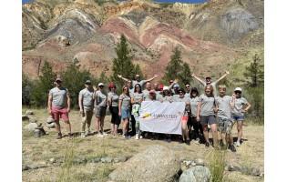 Клуб путешественников LANMASTER побывал на Алтае