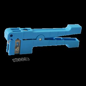 Инструмент для снятия оболочки оптического кабеля диаметром от 2 до 6 мм