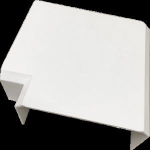 Плоский угол для короба 120х50 мм, белый