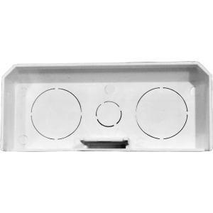 Заглушка для короба 120х50 мм, белая