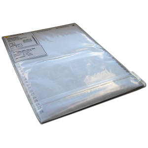 Self-adhesive patch panel labels for laser printers